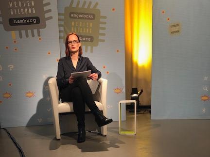 Aufzeichnung Angedockt 8 - Medienbildung in Hamburg (Foto: Andreas Hedrich)